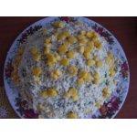Крабовый салат Одуванчик