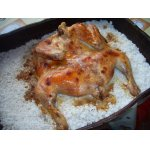Курица жареная