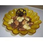 Бананы в конфетном креме с орешками