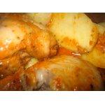 Курица по-домашнему с картошкой