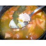 Ленивый рыбный суп