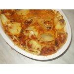Рулеты из лазаньи с сырной начинкой