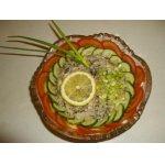 Салат с крабовым мясом Штиль