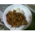 Рагу из соевых бобов с овощами