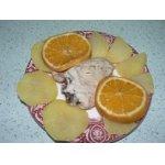 Курица в собственном соку с апельсином