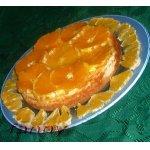 Чизкейк с апельсинами