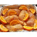 Окорочка в апельсинах
