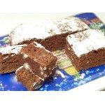 Шоколадный кекс с вареньем