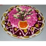 Салат Овощной тортик
