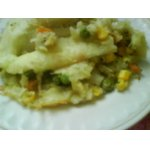 Вкусненькая картофельная запеканочка с овощами