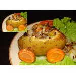 """Картофель, запеченный с грибами """"Телега"""""""