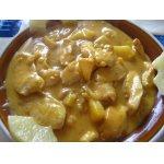 """Курочка   """"Curry""""   с   ананасом"""