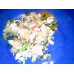 Картофельная запеканка с зеленым луком