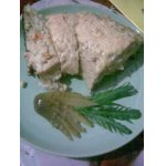Рыбный рулет с рисом