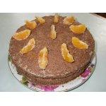 Торт Наслаждение с ананасами