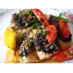Рыба,   запеченая   с   тапенадом
