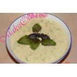 Суп-пюре картофельный с чесноком