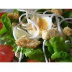 Зеленый салат с грушами