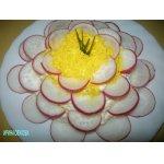 Салат с сыром Кувшинка