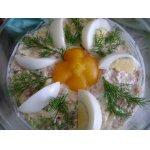 Салат Курица в ананасах