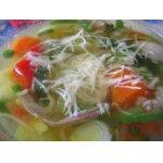 """Весенний   суп   с   кабачками   и   """"пармезаном"""""""