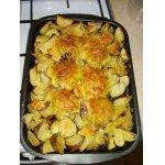 Куриные бедра с картофелем