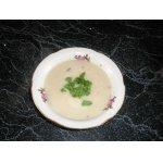 Суп-пюре из цветной капусты с фасолью