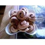 Печенье Розочки с корицей