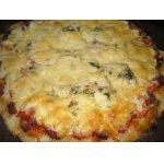 Пицца на кефирном тесте