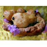 Сладкие булочки «Весеннее гнездо»