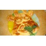 Пирог с мясом и картофелем Коровушка