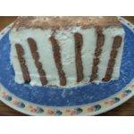 Торт творожный Зебра
