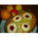 Овсянка, запеченная с яблоками