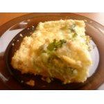 Пирог-запеканка с цветной капустой