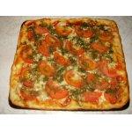 Грибная пицца по-киевски