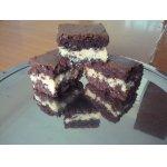 Brownies шоколадный с кокосом