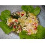 Салат «Двойной праздник»