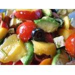 Томатный   салат   с   авокадо