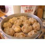 Манты из сырого картофеля