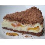 Пирог творожный с персиками Искушение в раю