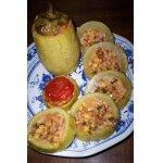 Порционная овощная закуска из кабачка