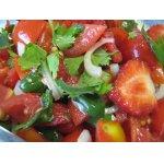 Томатно-клубничный   салат