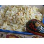 Картофельное пюре с капустой и сыром
