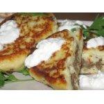 Картофельные зразы с печенью и брынзой – кулинарный рецепт