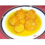 Апельсины фламбе