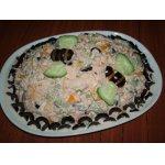 Салат с сельдереем и тунцом