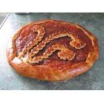 Пирог с яблочным джемом