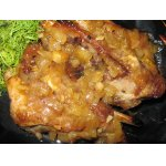 Свиные рeбра в медово-абрикосовом соусе
