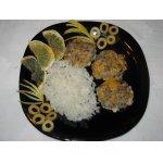 Кальмаро-грибные биточки с сыром