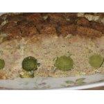 Мясной хлебец с корнишонами